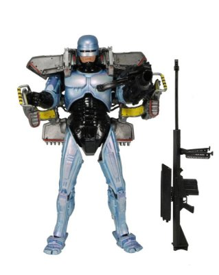 Robocop With Jetpack And Assault Cannon - Deluxe NECA