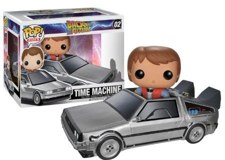 Back To The Future - Time Machine Delorean - Pop Rides - Funko Vinyl