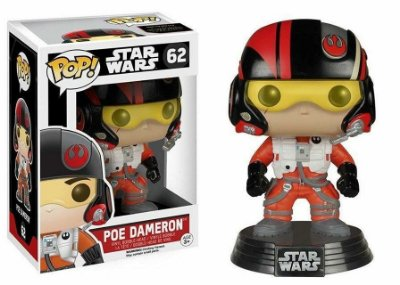 Star Wars VII - Poe Dameron - Pop Funko - Vinyl