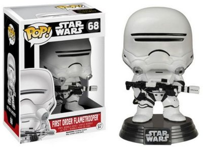 Star Wars VII - First Order Flametrooper - Pop Funko - Vinyl