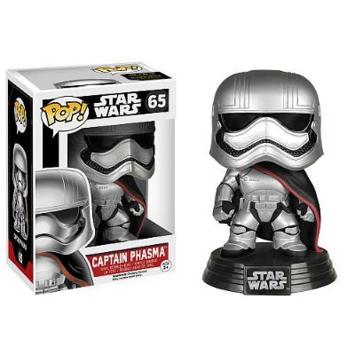 Star Wars VII - Captain Phasma - Pop Funko - Vinyl