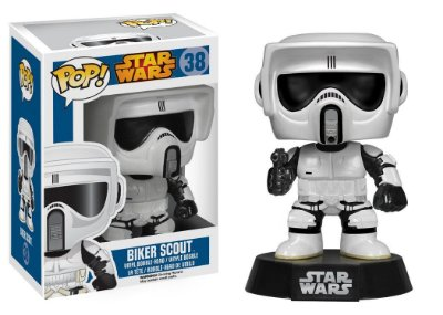 Star Wars - Biker Scout - Pop Funko - Vinyl