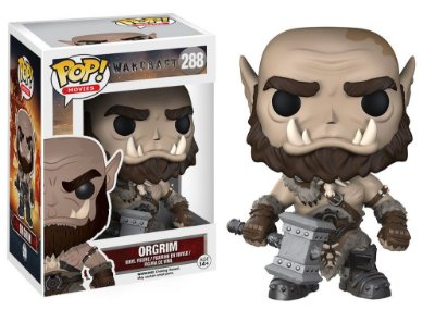 Warcraft - ORGRIM - Pop Movies - Funko Vinyl