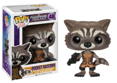 Guardians of the Galaxy - ROCKET RACCOON - Pop Marvel - Funko Vinyl
