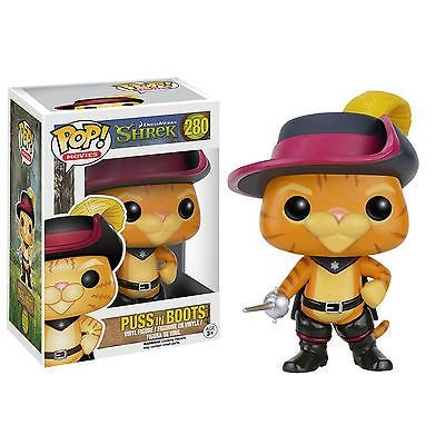 Shrek DreamWorks - PUSS in BOOTS - Pop Movies - Funko Vinyl