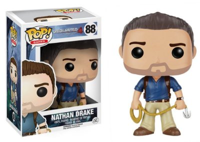 Uncharted 4 - NATHAN DRAKE - Pop Games - Funko Vinyl