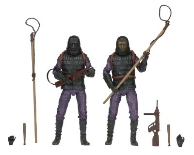 Gorilla Soldier (2 Pack) - Planet Of The Apes Classic - Neca - Planeta dos Macacos