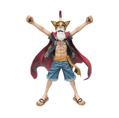 Gladiator Lucy (Luffy) - Figuarts Zero - Bandai - One Piece