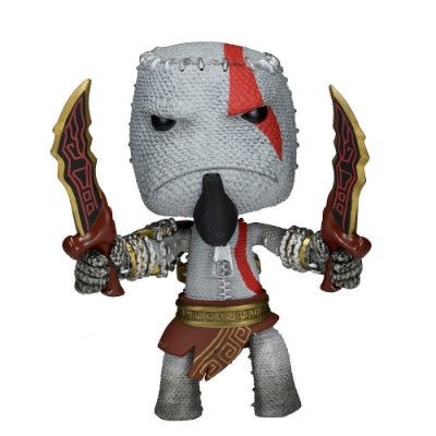 Little Big Planet - Kratos Sackboy - God Of War - Series 1 - Neca
