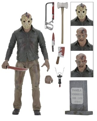 Friday the 13th Part IV Jason - Ultimate Action Figure 7″ Scale