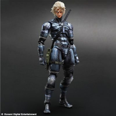 Raiden - Metal Gear Solid 2 - Sons Of Liberty - Play Arts Kai Action Figure