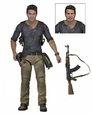 Nathan Drake Ultimate Edition Action Figure - Uncharted 4 - A Thief's End
