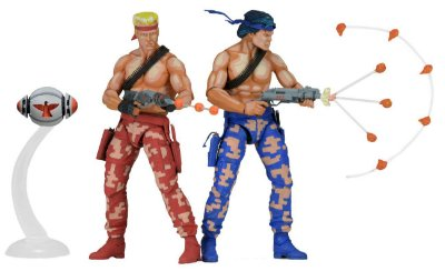 "Contra – 7"" Scale Action Figures – Bill and Lance 2-Pack"