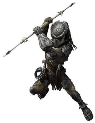 Predator Wolf - Alien Versus Predator - S.H. Monster Arts - Bandai