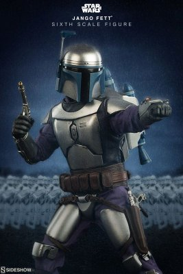 Star Wars Jango Fett - Sixth Scale - Sideshow - 1/6 Figure