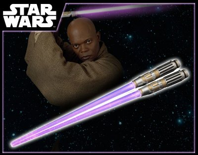 Hashi Lightsaber Mace Windu Light Up Ver. (com led) - Kotobukiya