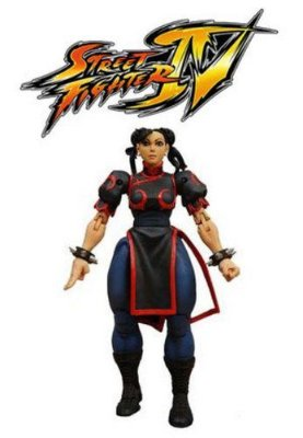 Chun-li - Street Fighter Iv - Survival Mode - Neca