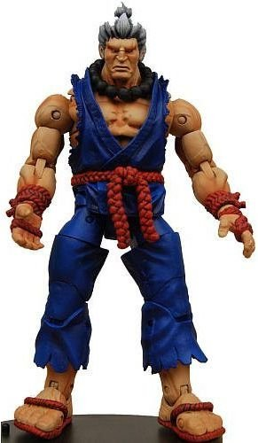 Akuma - Street Fighter Iv - Survival Mode - Neca