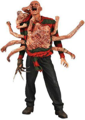Freddy Krueger - A Nightmare On Elm Street - The Dream Master - Series 2 - Neca