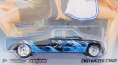 Hot Wheels - Nose Art - Customized C3500 1/64