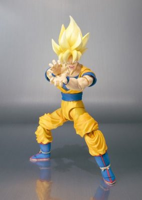 Super Sayian Son Gokou - S.h.figuarts - Dragon Ball Z - Bandai