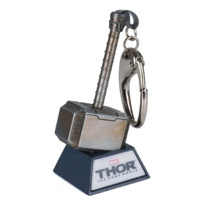 Chaveiro Thor 2 Mjolnir - The Dark World - Iron Studios