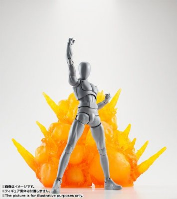 Tamashii Effect Explosion Red - Display