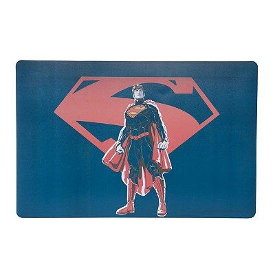 Lugar Americano de Plástico WB Core Superman Logo Azul 43,5 x 28,5 cm - Superman - Urban Brasil