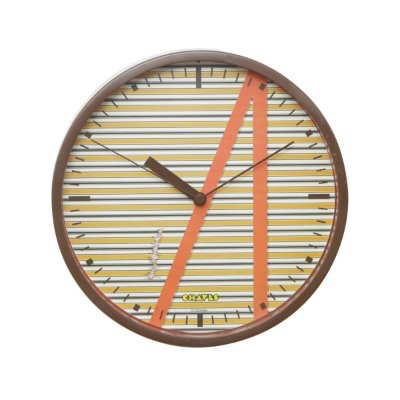Relógio de Parede de Plástico CVS Chaves Shirt Colorido - 22,5 x 4,1 x 22,5 cm - Chaves
