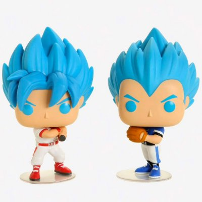 Goku & Vegeta (baseball) - Pop! - Dragon Ball Super - Funko