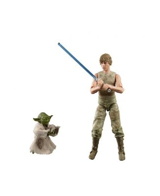 Luke Skywalker & Yoda (Jedi Training) - Star Wars The Black Series - E9642 - Hasbro