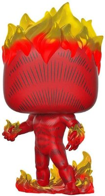 The Original Human Torch (Tocha Humana) - 501 - 80 Years Marvel - Pop Funko