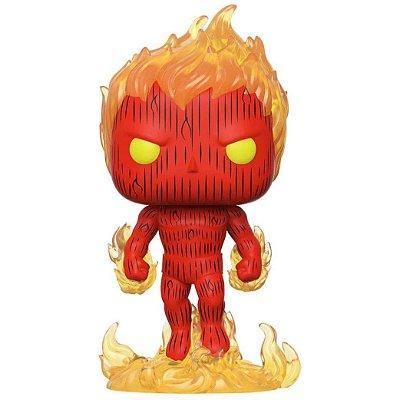 Human Torch - 559 - Fantastic Four 4 Marvel - Pop Funko