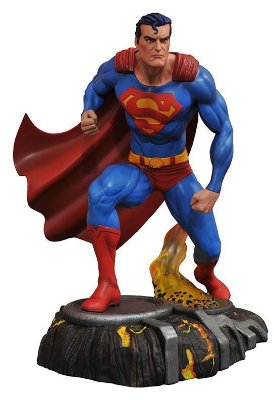 Superman - DC Comic Gallery - PVC Diorama - Diamond Select