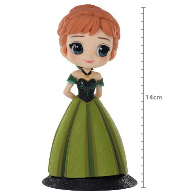 Anna - Coronation Style A - Q posket - Disney Characters