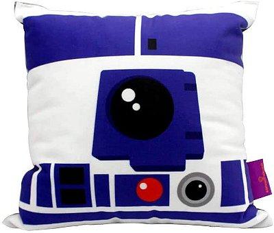Almofada - R2D2 - Star Wars - 25x25cm - Zona Criativa