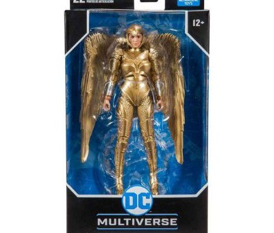 Wonder Woman - Wonder Woman Gold - Dc Multiverse - F0025-2