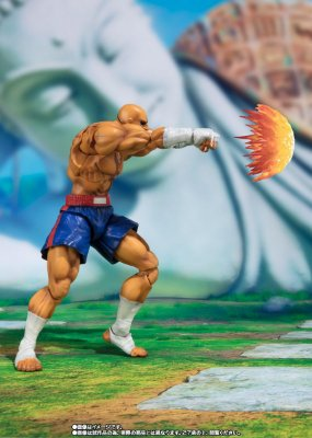 Sagat - Street Fighter V - No. 12 - S.H.Figuart - Bandai