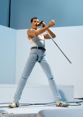 Freddie Mercury - Live Aid Ver. - Queen - S.H. Figuarts