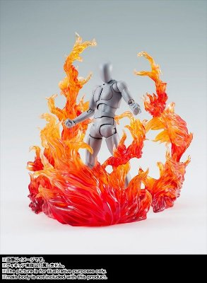 Tamashii Effect Burning Flame Red - Display