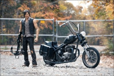 Walking Dead Daryl Dixon And Chopper - McFarlane Toys