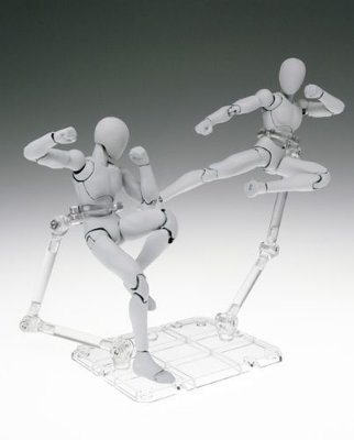 Tamashii Stage Act 4 Clear - Display