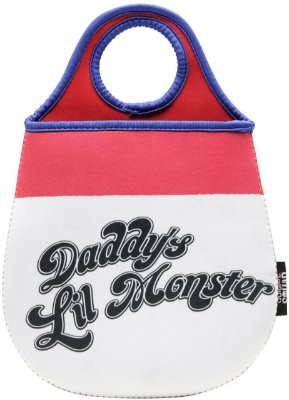 Lixeira Carro Neoprene - Daddy's Lil Monster - 20x0,02x29cm