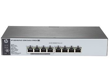 Switch HP 1820-8 Portas Gigabit POE+ (65W) J9982A