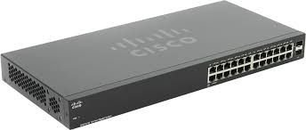 Switch Cisco 24 Portas Gigabit 2 Portas SFP 110 Series SG110-24