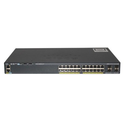 Switch Cisco CATALYST 2960-X 24 Portas POE Gigabit 4 Portas SFP WS-C2960X-24PS