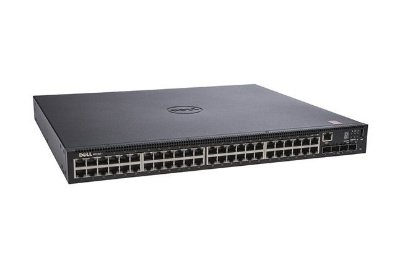 Switch Dell N1548P 48 Portas Gigabit POE + 4 Portas SFP+ 210-AEWB