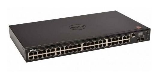 Switch Dell N2048 48 Portas Gigabit (2 Portas SFP+ 2 Portas Stacking) 210-ASNG