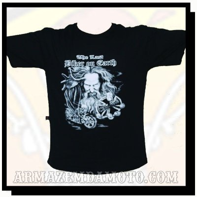 CAMISETA THE LAST BIKER ON EARTH CHOPPERS
