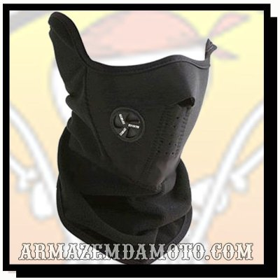 BALACLAVA EM SOFT FLEECE E NEOPRENE
